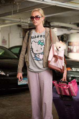 Guys I am pretty excited about Charlize Theron's latest movie - Young Adult.